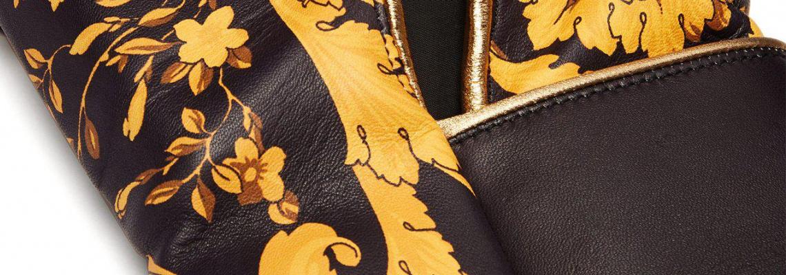 Нокдаун с боксови ръкавици за $3 762 от Versace