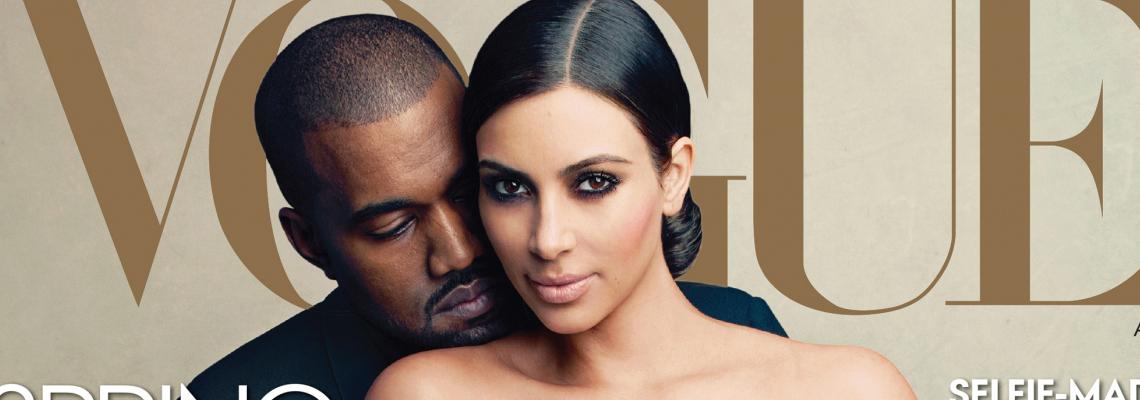 Бъдещата адвокатка Ким и децата за Vogue
