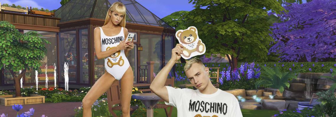 Чудим се дали ни харесва: Капсулната на Moschino по The Sims