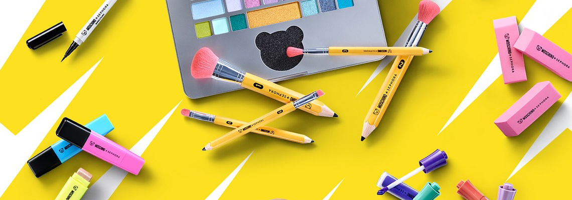 Да или Не: Канцеларската колекция грим на Moschino & Sephora?