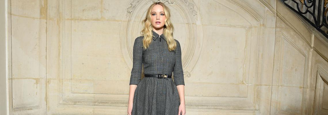 We love: Годежната рокля на Дженифър Лорънс