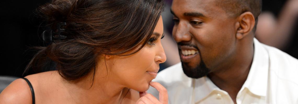 Ким & Кание разкриха необичайното име на сина си