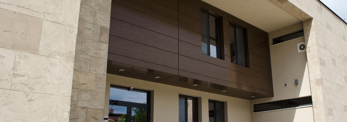 Модерните фасади могат да се моделират