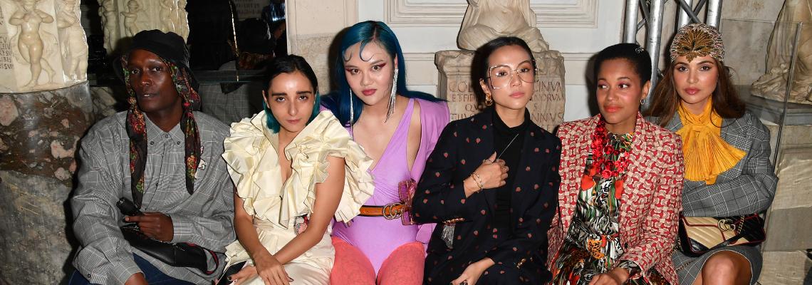Одата на Свободата, Женствеността и 70-те, която Микеле изкомпозира за Gucci