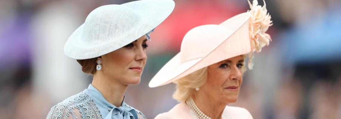 Royal Ascot 2019: Бледосинята визия на Катрин
