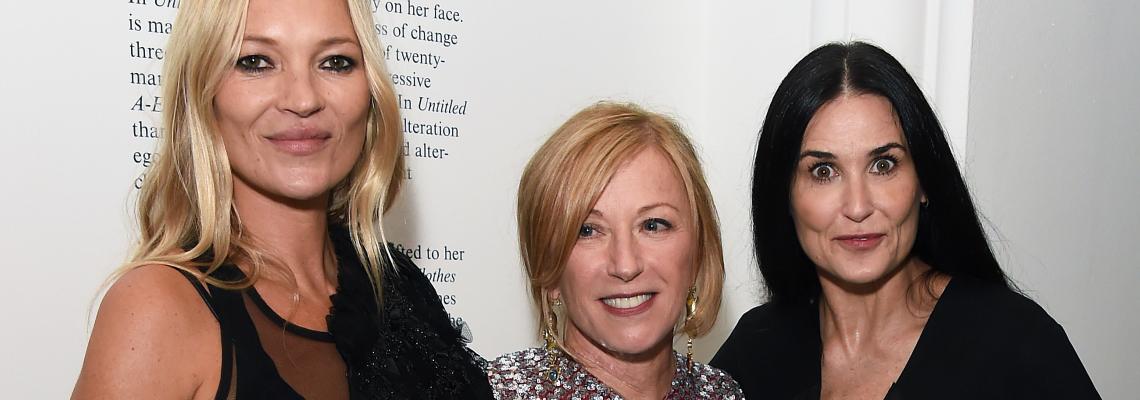 We love: Черният шик на Кейт Мос