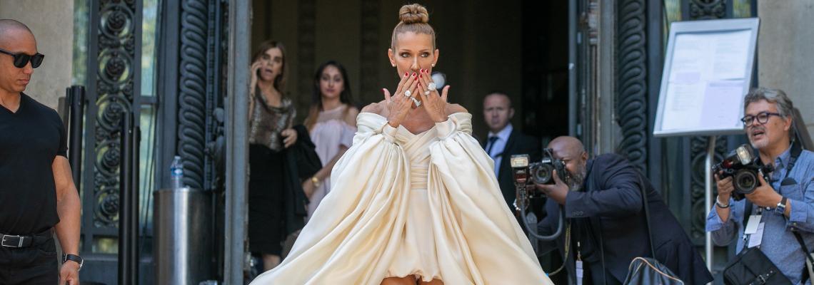 Street style вдъхновения: Кралицата на кутюра Селин на модната седмица в Париж