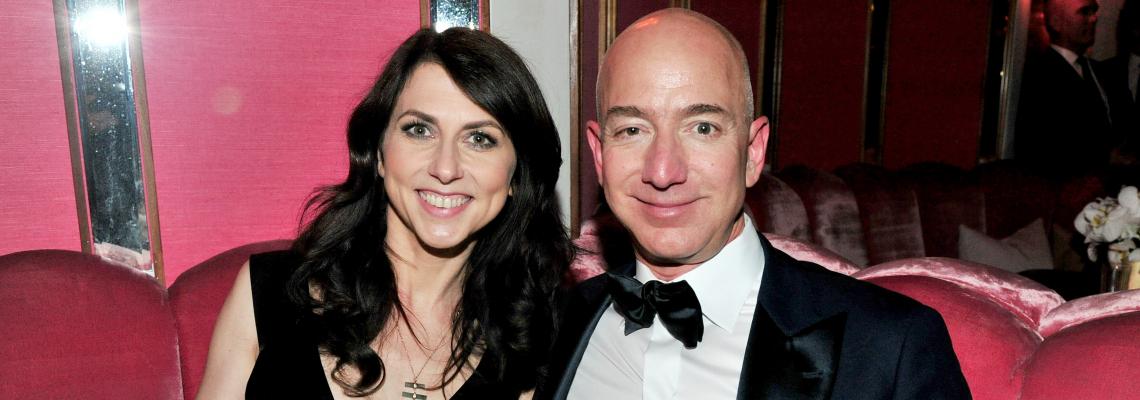 Най-богатият човек в света се разведе: Безос компенсира жена си с близо 39 милиарда