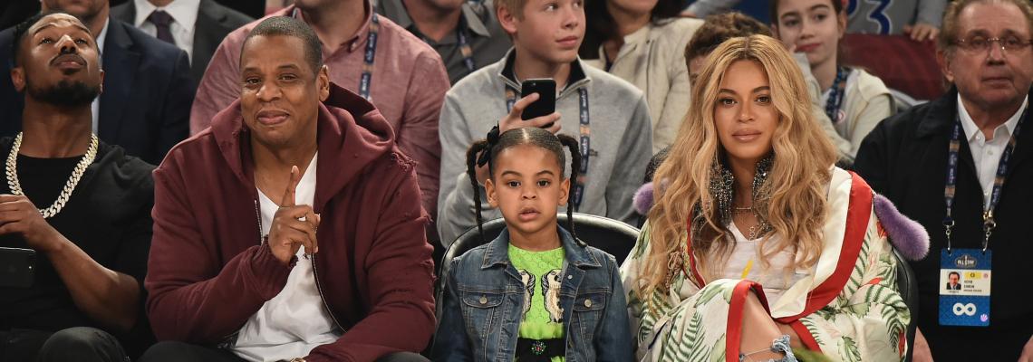 7-годишната дъщеря на Бионсе и Джей Зи с песен в Billboard Top 100 - чудо голямо!