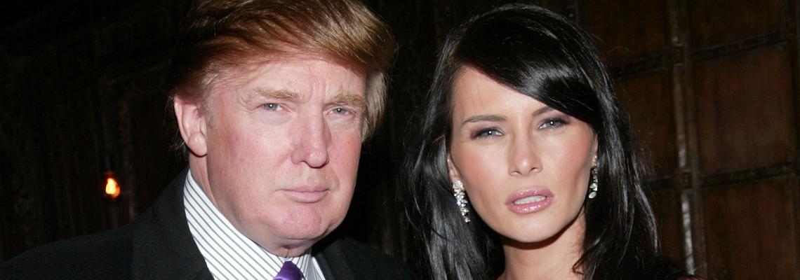 Ода за Мелания Тръмп в цялата й прелест, преди да знае, че ще става Първа дама