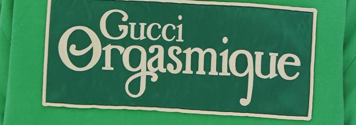 Gucci представя Orgasmique.