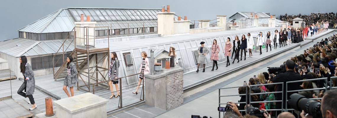 Chanel-момичетата, които живеят на покрива