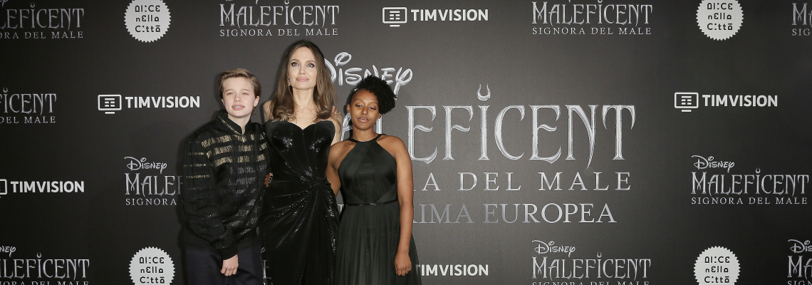 Анджелина и Захара, Versace и Maleficent 2