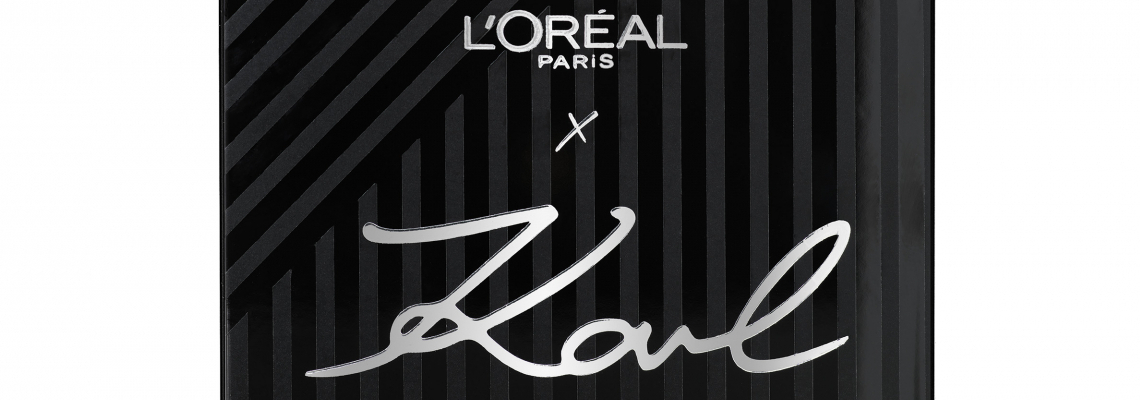 KARL LAGERFELD X L'Oréal Paris - съвсем скоро и в България