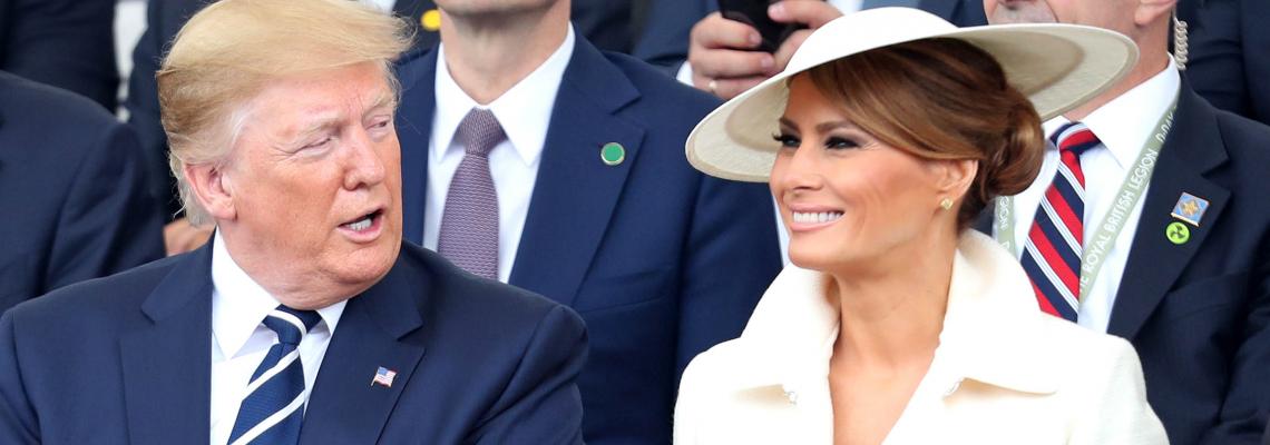 Мелания Тръмп на форум във Вашингтон: красив делови момент