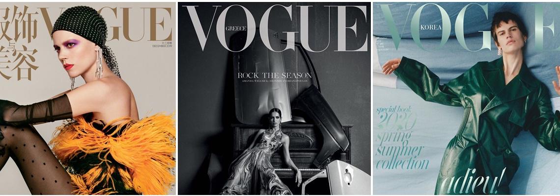Fashion Екстаз в понеделник: декемврийските корици - Анджи за Harper's Bazaar, Вики Бекъм за полския Vogue & още