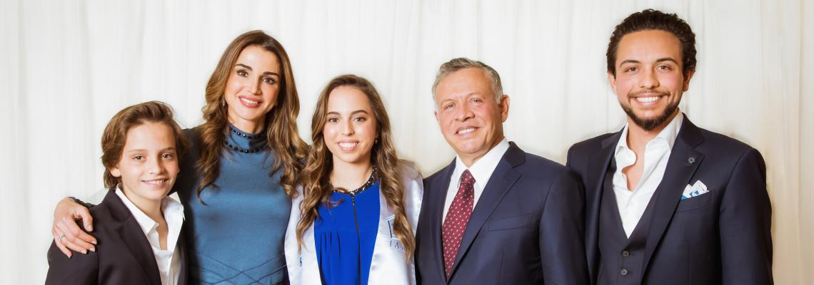 19-годишната дъщеря на кралица Рания е първата жена пилот в Йордания