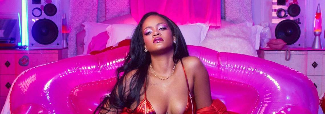 Кой как избра да се рекламира: Риана, single & hot AF, за Fenty