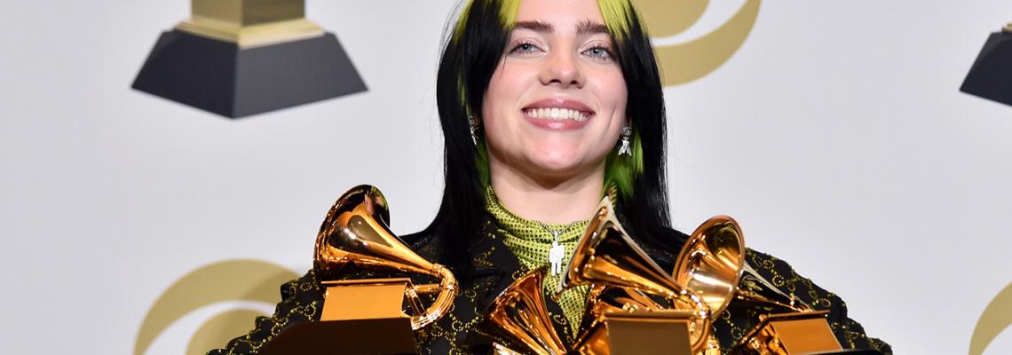 Grammy Awards 2020: Billie Eilish царува в Голямата нощ с множество награди