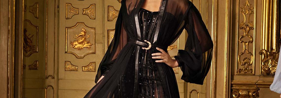 Футуристичните богини на Atelier Versace