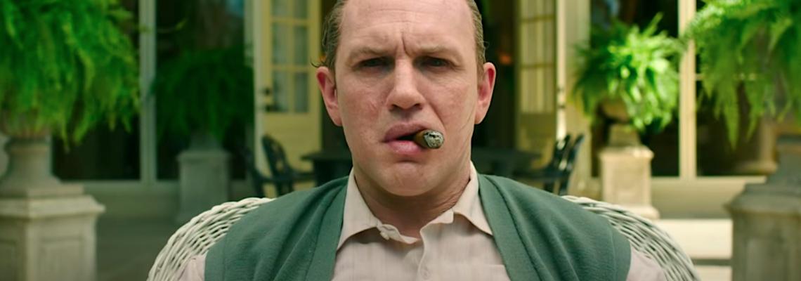 Том Харди, неузнаваем като Ал Капоне