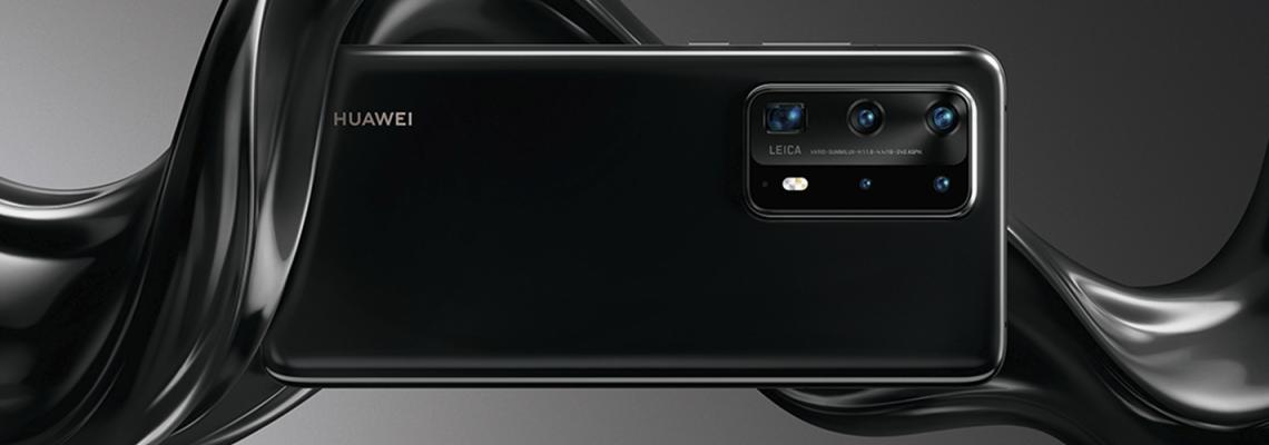 Формите на водата в цветната палитра на Huawei P40 Pro