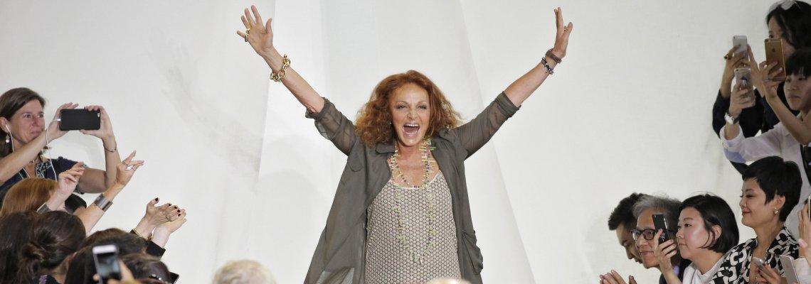 Diane von Furstenberg закрива магазините си и уволнява 75% от служителите
