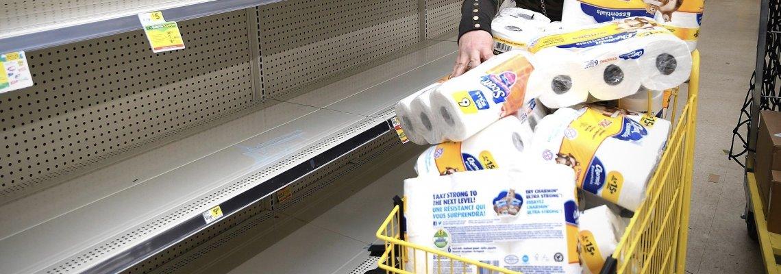 Презапасяването с тоалетна хартия: научното обяснение