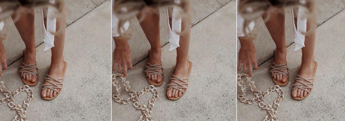Стил урок на седмицата: въжените сандали