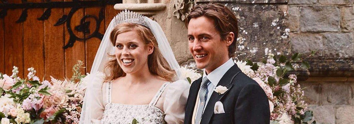 Принцеса Беатрис най-накрая се омъжи... и то как!