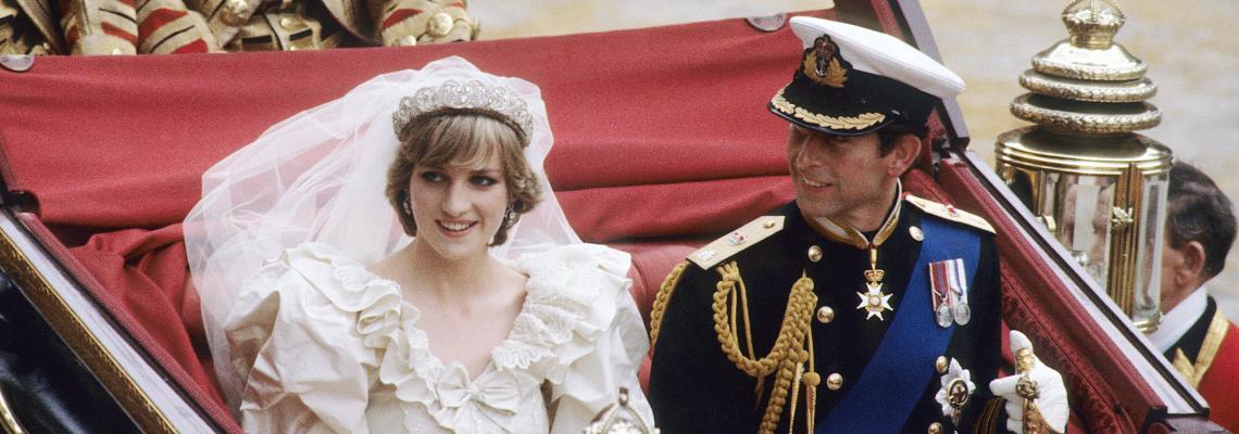 29 юли, Чарлз и Даяна се женят. Непоказвани никога снимки
