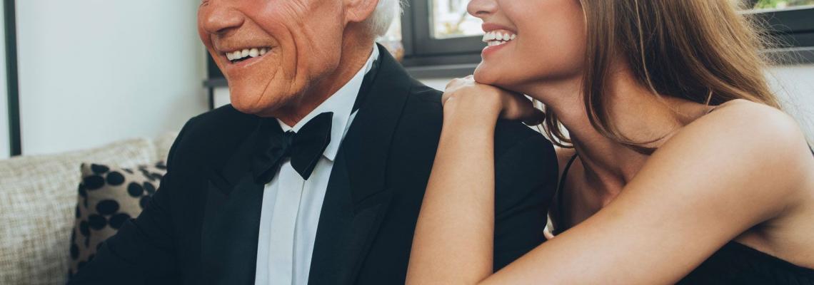 Обичам секса с възрастни мъже: етимология на привличането