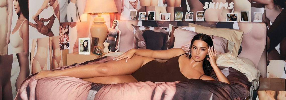 1-ви рожден ден на SKIMS: Ким К включи звезди и фенове в прекрасната рекламна кампания