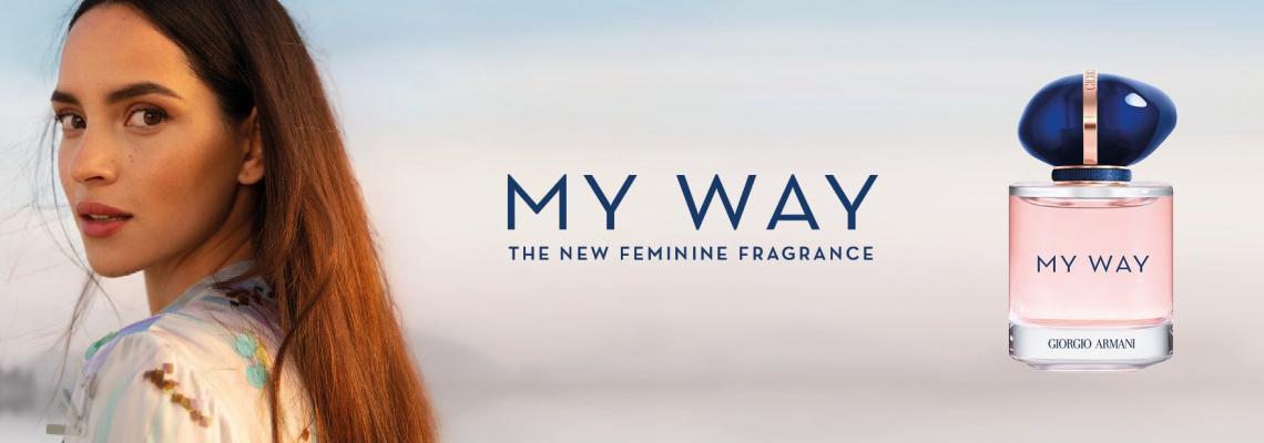 MY WAY от ARMANI: Аз съм това, което изживявам