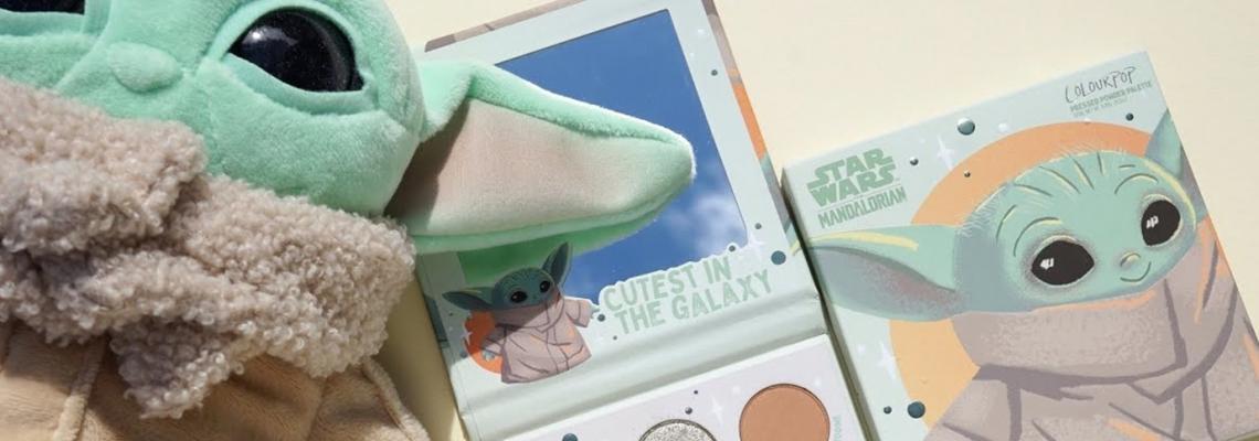 ColourPop's Baby Yoda Palette: чудни, галактически, сладурски сенки