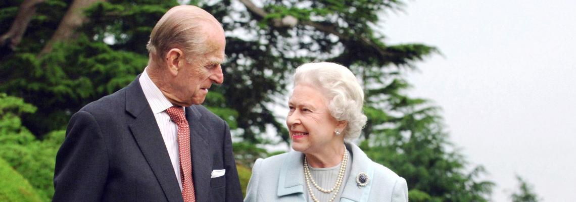 Say Cheese! Кралица Елизабет и принц Филип с нова снимка в Getty