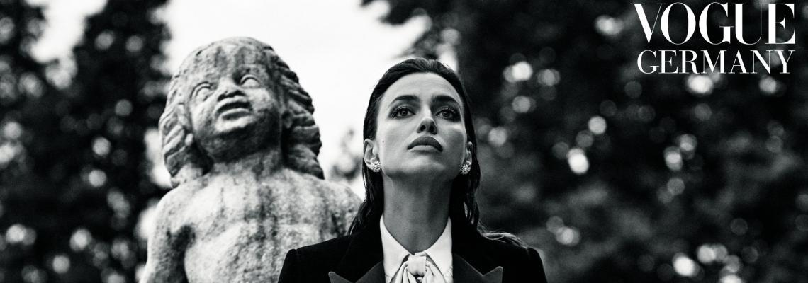 Мега секси:  Ирина Шейк за Vogue Германия