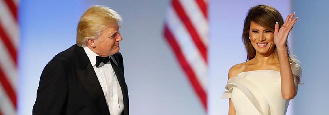 Довиждане, Мелания Тръмп, с 50 брилянтни кадъра
