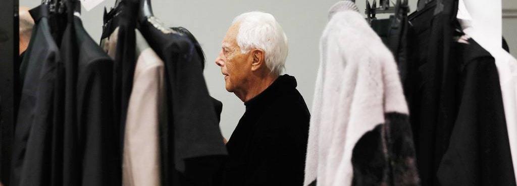 Джорджо Армани, който облече Мария Бакалова, е божествен дизайнер, припомняме защо