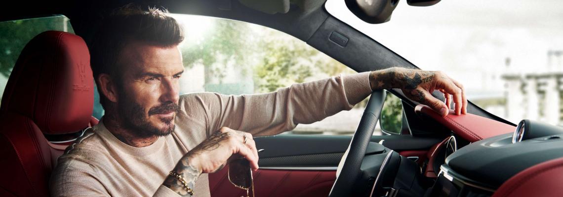 Дейвид Бекъм е новото лице на Maserati
