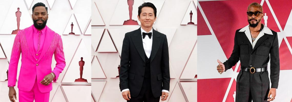 Men's Exhibit: Най-добре облечени мъже на Оскари 2021