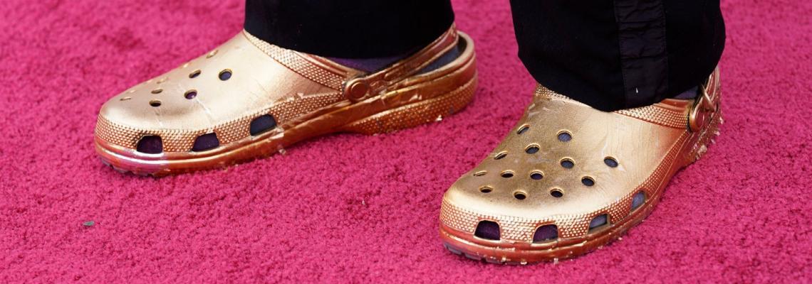 Златни Crocs на Оскарите? ДА!