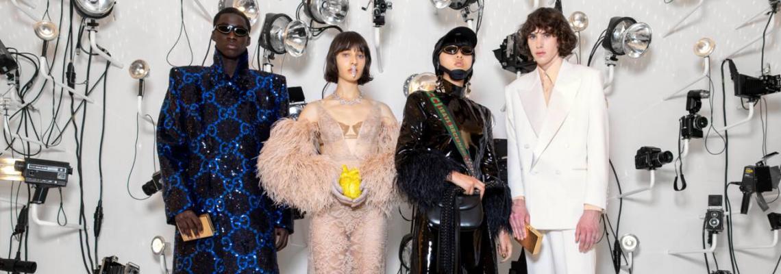 Gucci и Balenciaga са най-популярните марки на 2021 година