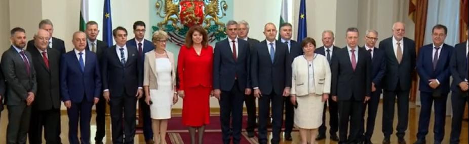 10% дами в новото служебно правителство на България
