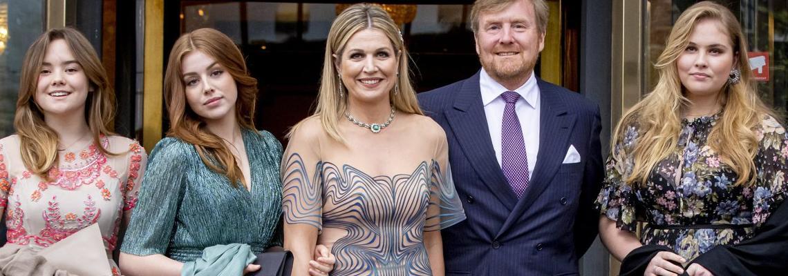 Опс! Кралицата на Нидерландия празнува юбилей в