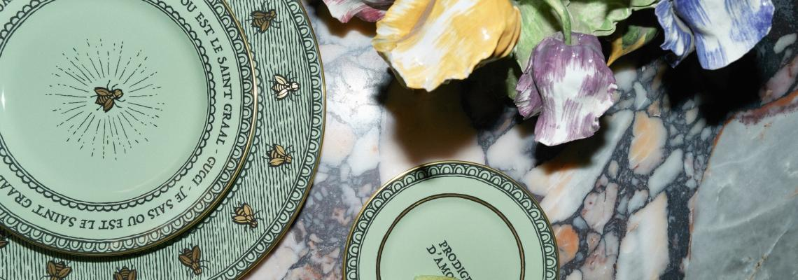 Ода на забавлението: новата интериорна колекция на Gucci