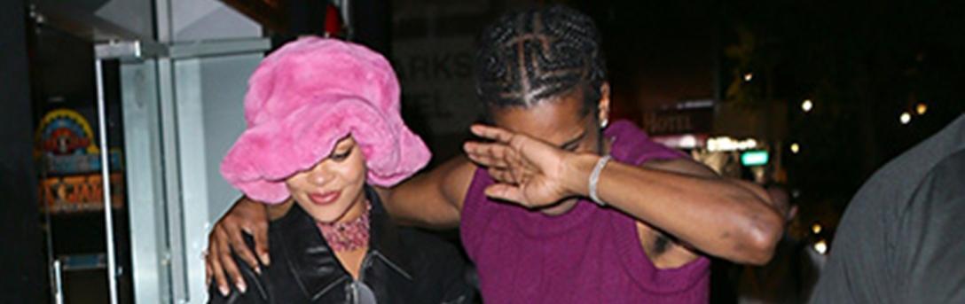 Уличният стил на звездите: Риана и A$AP Rocky в Ню Йорк