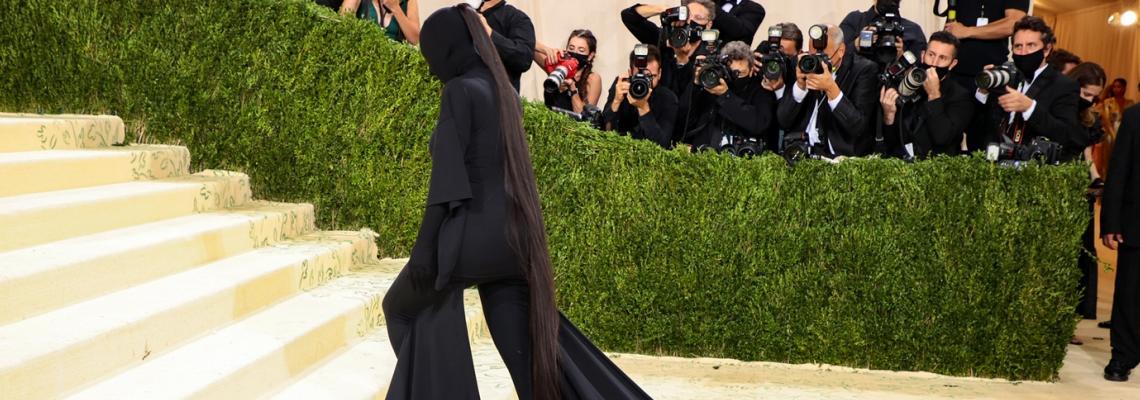 Защо Ким Кардашян е най-добре облечената на Met Gala 2021