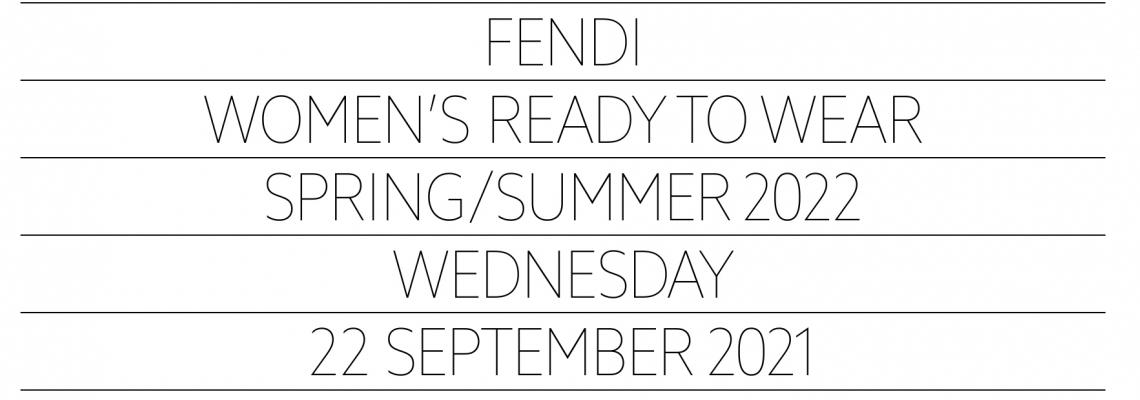Fendi, Spring 2022, READY-TO-WEAR