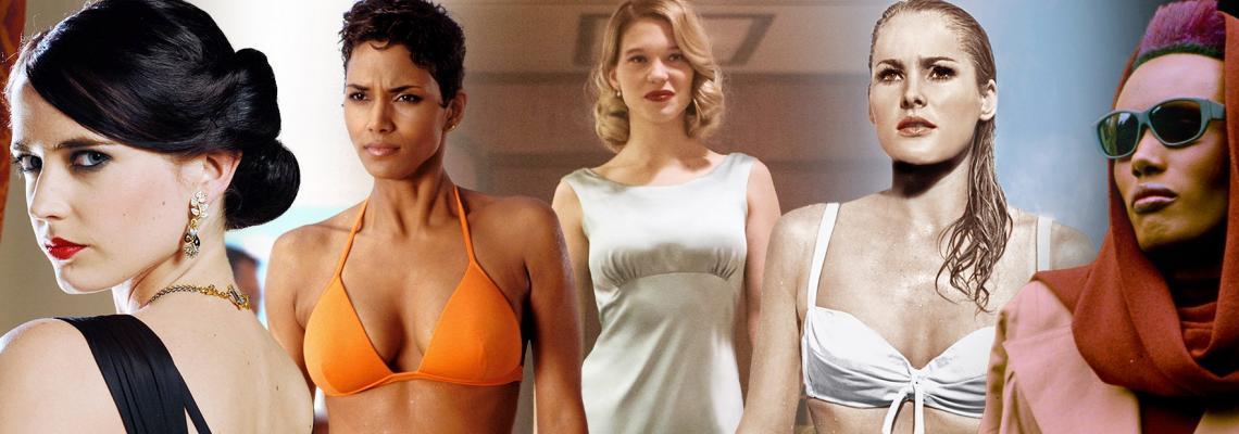 Момичетата на Бонд, Джеймс Бонд: 10-те най-добри модни решения в историята